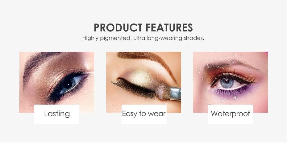 1 PC Focallure Mode Maquillage Des Yeux Ombre À Paupières 6