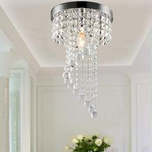 Modern Crystal LED Ceiling Lights Pendant Lamp Aisle Lights Chandeliers Fixtures warm white