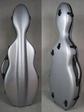 1pcs Strong Rare model, gray hard glass fiber 4/4 violin case