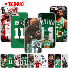 HAMEINUO Kyrie Irving durant james harden cell phone Cover case for iphone 6 4 4s 5 5s SE 5c 6 6s 7 plus case for iphone X 8(China)