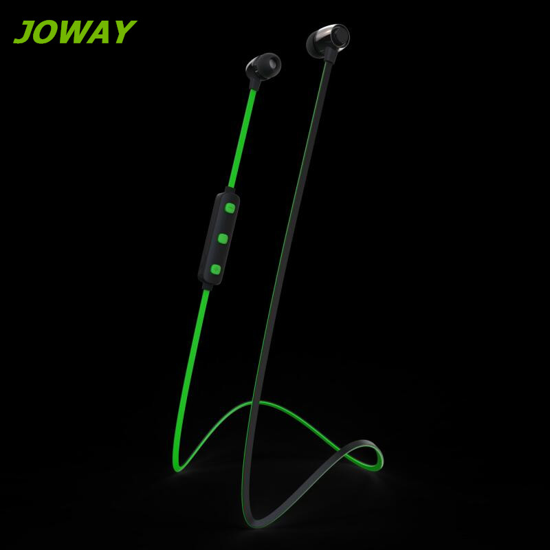 Joway Sports Bluetooth Earphones with Microphone Wireless Stereo Headset Noodles Line-ear Earphone for iPhone Samsung Xiaomi<br><br>Aliexpress
