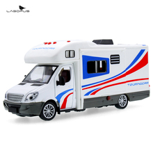 1:32 Scale Alloy Metal Diecast Collection Car Model For Sprinter Luxury Motorhome Recreational Vehicle RV Trailer Caravan Model