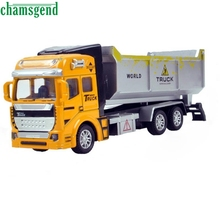 CHAMSGEND High Quality 1:48 Back In The Toy Car Engineering Dump Truck Car A Birthday Present Toys for Children kids Toy  WNov4