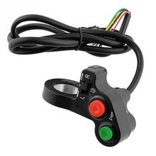 Plastic Case 3 In 1 Refitted Vehicles Combination Switch forTurn Lights Switch, Loudspeaker Switch, Headlight Switch