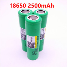 liitokala for samsung 18650 2500mah lithium battery 25r inr1865025r 20a battery for electronic cigarette+Free shipping