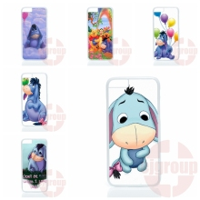 Cute animal cartoon donkey Eeyore For Apple iPhone 4 4S 5 5C SE 6 6S 7 Plus 4.7 5.5 iPod Touch 4 5 6 Hard PC Skin accessories