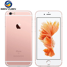 Original Unlocked Apple iPhone 6s Mobile Phone 4.7'' IPS 12.0MP A9 Dual Core 2GB RAM 16/64/128GB ROM 4G LTE Smartphone(China)