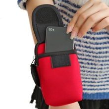 Accessory Running Sport Storage Bag Unisex Casual Functional Bag Hand Arm Wrist Band Money Phone Belt Storage Bag Coin Purse