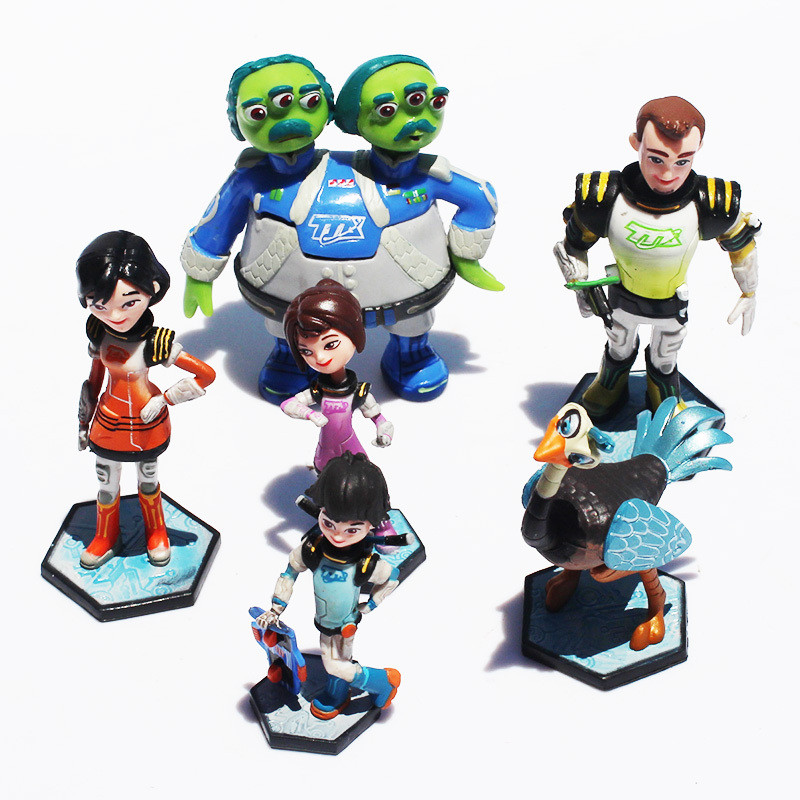 Action figure toys Miles From Tomorrowland Missions PVC model action toys 6pcs/set<br><br>Aliexpress