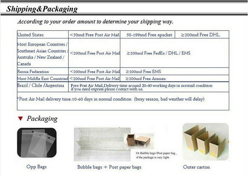 Shipping packaging