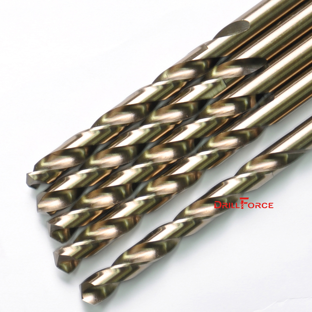 "2x 5//16/""  HSS CO M35 COBALT TWIST DRILL BIT FOR DRILLING HARD METALS STAINLESS"