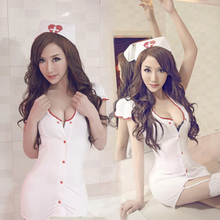 Buy sexy nurse uniforms sexy lingerie hot women role-playing nurse costumes temptation erotic lingerie baby doll sexy custome