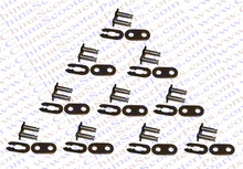 10PCS T8F  Chain Master Link Mini Moto Pocket Dirt Pit ATV Quad Go Kart E Gas Scooter 47CC 49CC