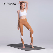 Buy W-Yunna 2017 New Autumn Sporting Leggings High Waist Color Block Push Skinny Leggings Elegent Soft Workout Leggings Women for $12.59 in AliExpress store