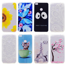 TPU Phone Case For Huawei Honor 8 Lite Durable Shell Mulit Species Painted Flower Pattern For Huawei P8 Lite 2017 P9 Lite 2017
