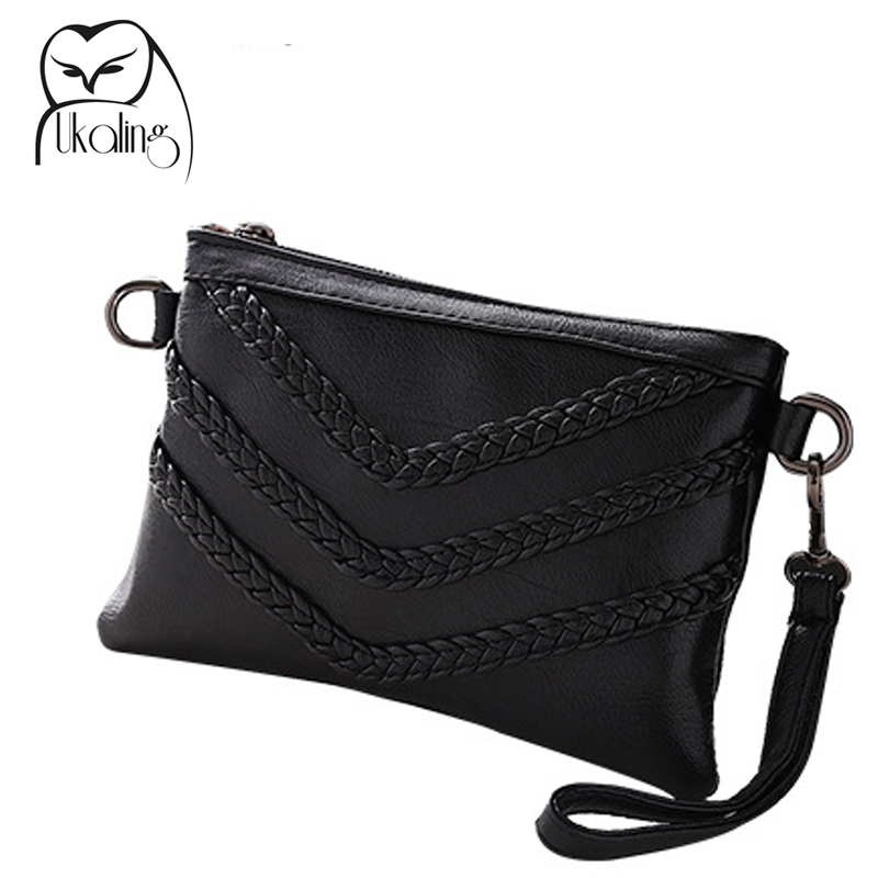 UKQLING Brand Small Women Messenger Bags Designer Cross Body Shoulder Bag with Belt Strap Sac a Main Lady Clutch Purses Phone<br><br>Aliexpress