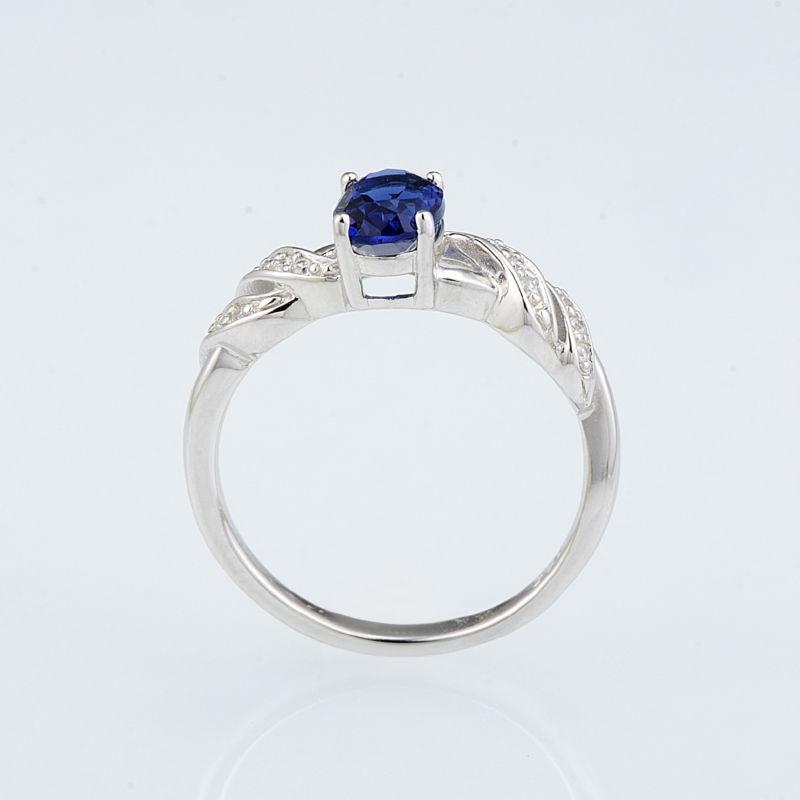 R303165BLGZSL925-SV2-Silver Ring