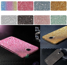 Full Body Front Back Glitter Bling Crystal Diamond Film Sticker Decal Skin Case Cover For Samsung Galaxy Note 3 4 5  S3 4 5 7
