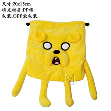 Anime/Cartoon Adventure Time Jake The Dog Yellow Jewelry/Cell Phone Drawstring Pouch/Wedding Party Gift Bag (DRAPH_10)