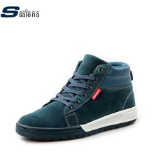Male Boots Soft Footwear Classic Military Boots Men Light Male Shoe Size Eu 39-44 AA20216