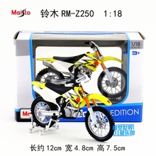Gift for baby 1pc 1:18 12cm Ducati SUZUKI Motor RM-Z250 motorcycle collection plastic alloy model children boy toy