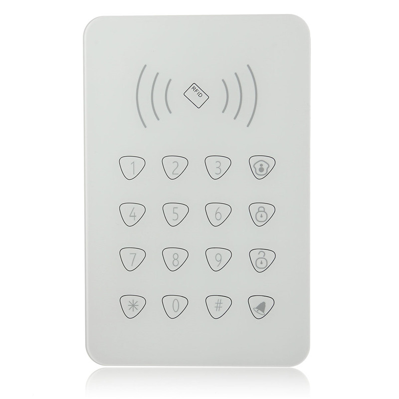 Touchable RFID keypad for Smart home WIFI GSM alarm,external Remotecontrol password keypad for G90B G90E Smart Home alarm syst<br>