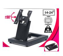 14-24 inch 180 Degree Swivel Tilt LED LCD TV Wall Mount Bracket Monitor Holder(China)