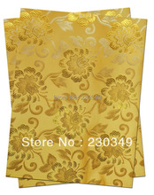 New design and hot-selling and fashion African Sego headtie ,DAMASK SEGO,AFRICAN HEAD TIE,GELE,,2pcs/set No.HT0356  YELLOW