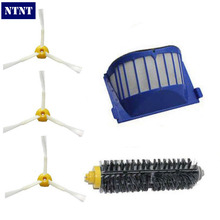 NTNT Free Post New AeroVac Filter Bristle 3 armed Brush for iRobot Roomba 600 Series Vacuum Clean(China)