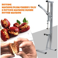 Hand pressing stainless steel red dates pitter pitting Machine/Plum/Cherry/Olive Pitting Machine/Jujube Pitter Machine