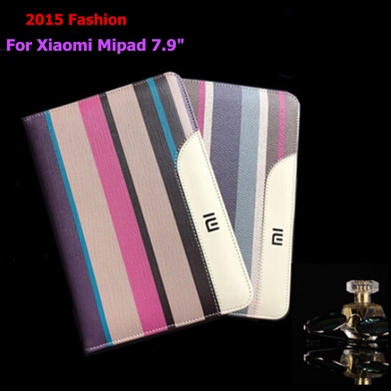 For Xiaomi Mipad 7.9 New Factory Sale Top Quality Retro Striped Sleep-wakeup Multifunction Handheld Stand Flip Smart Case<br><br>Aliexpress