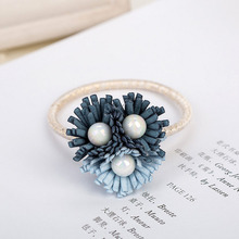 High Quality Women Summer Style Hair Accessories Handmade Elastic Hair Bands Gum For Hair Acessories