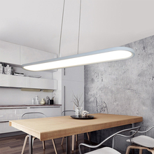 New products, Oval office pendant lamp, modern restaurant ultra-thin led chandelier(China)