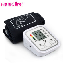 Digital Upper Arm Blood Pressure Pulse Monitor Health Care Tonometer Meter Sphygmomanometer Portable Blood Pressure Monitors(China)