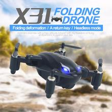 Buy SYX31 Foldable Mini Drone RC Quadrocopter 2.4Ghz 4CH 6 Axis Gyro Helicopter Aircraft Remote Control Quadcopter RC Drone RTF for $22.50 in AliExpress store