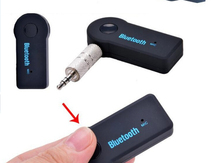 3.5mm Car Wireless Bluetooth Receiver Car Kit AUX Audio Music Receiver  with MIC For Speaker Phone MP3 Player 35A08