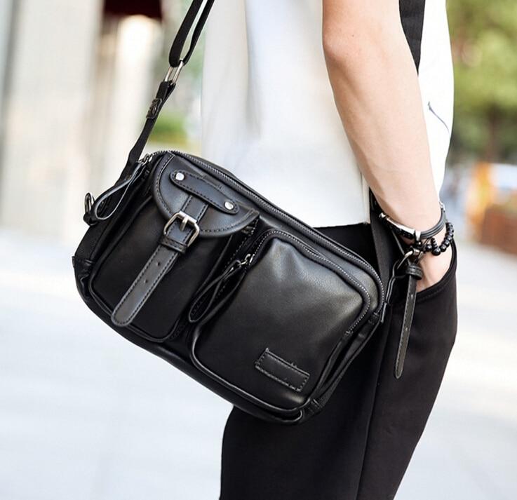 ETN BAG 042816 hot sale man PU leather fashion crossbody bag male casual shoulder bag<br><br>Aliexpress