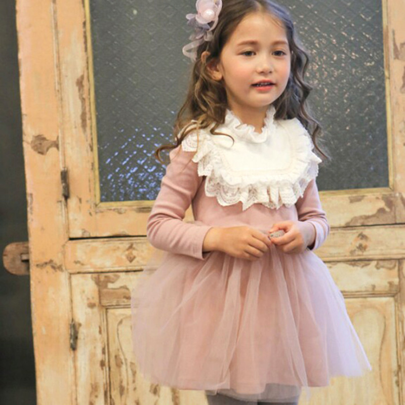 girls dress winter 2016 brand princess dresses thick warm girls dresses for party and wedding long sleeve children clothes<br><br>Aliexpress