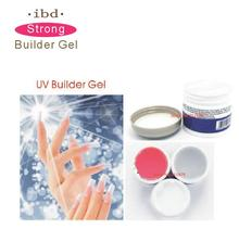 1pcs Acrylic Nail Art UV Gel nail saloon profesional nail art IBD Builder Gel 2oz / 56g   Choose  clear white pink color crystal