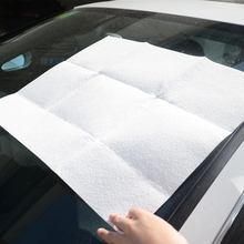 1 pcs Car Drying Cleaning Towel Artificial Imitation Suede Chamois Shammy Sponge Cloth Sheepskin Absorbent Towel Car Washing(China)