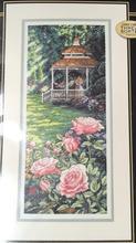 Высочайшее Качество Красивые Прекрасный Счетный Крест Kit Рай Найден Rose Park Сад Поцелуй Любовника dim 35207(China)