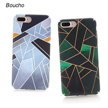 Buy Boucho Colorful Geometric Graphic Pattern Case iPhone 8/8plus 7/7plus Phone Cases iPhone 6 6s Plus Back Cover Newest for $2.15 in AliExpress store