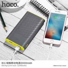 Buy HOCO B31A 30000mAh 20000mAh Power Bank Portable Dual USB 5V2.1 Charger External Back Battery iPhone X 6 7 8 Redmi Xiaomi for $23.10 in AliExpress store