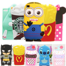 For P8 Lite Case Hot sales! 3D Minions Phone Silicone soft Case Cover For Huawei P8 Lite / Mini 5.0 Cases Gel Shell