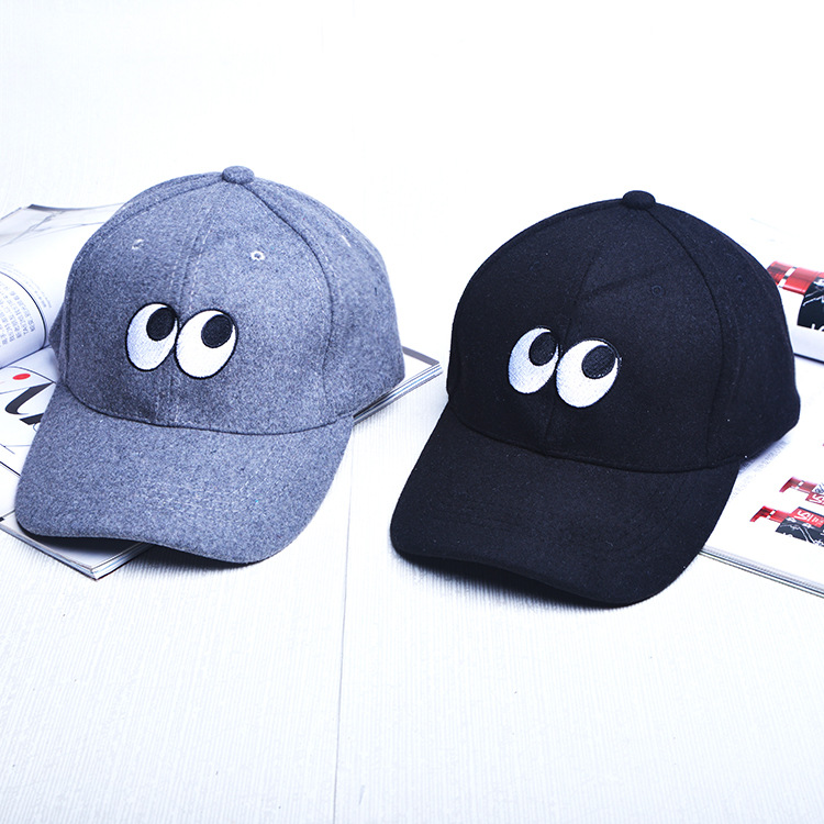 2017 Cheap New Cartoon Eyes Baseball Caps Mens Snapback Embroidery Hip Hop Lets Smile Today Hats Women Casquette Snap Back Hat<br><br>Aliexpress
