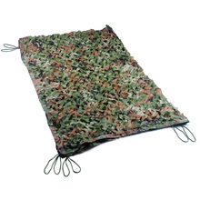 3M*4M Polyester Material+Nylon Strap Car Drop Hidding Cover Military Exercise Military Camouflage Camo Net Camping Hunting Cover