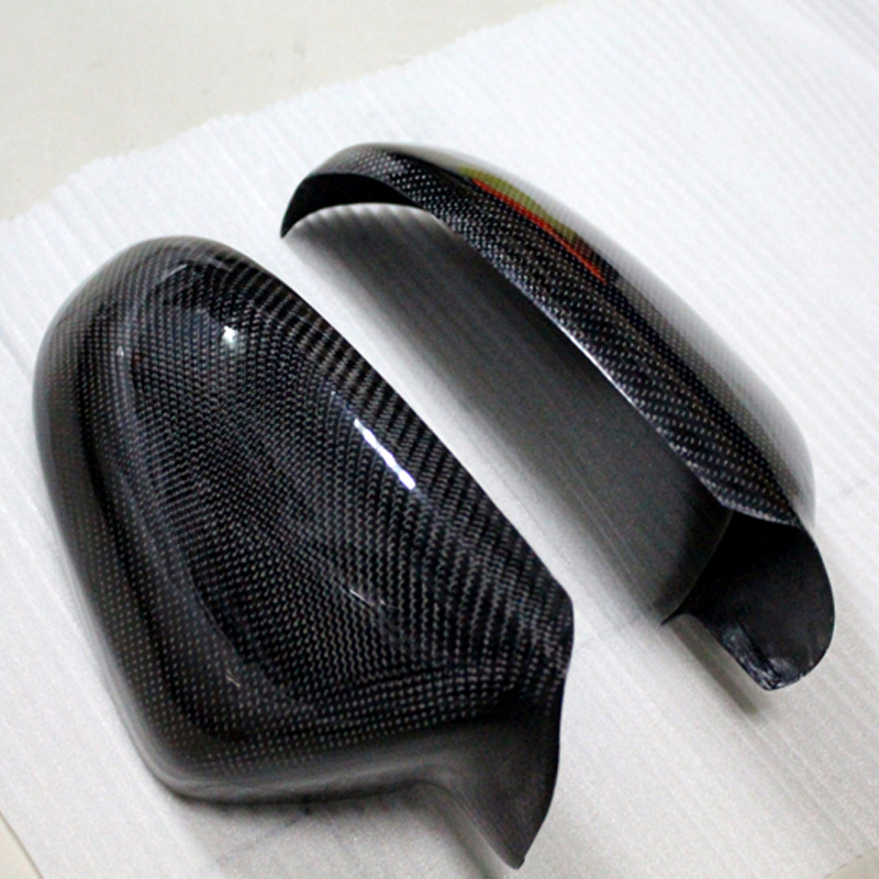 2012 2013 2014 2015 For Audi A6 C7 Exterior Rearview Door Mirrors Cover Trim Carbon Fiber<br><br>Aliexpress