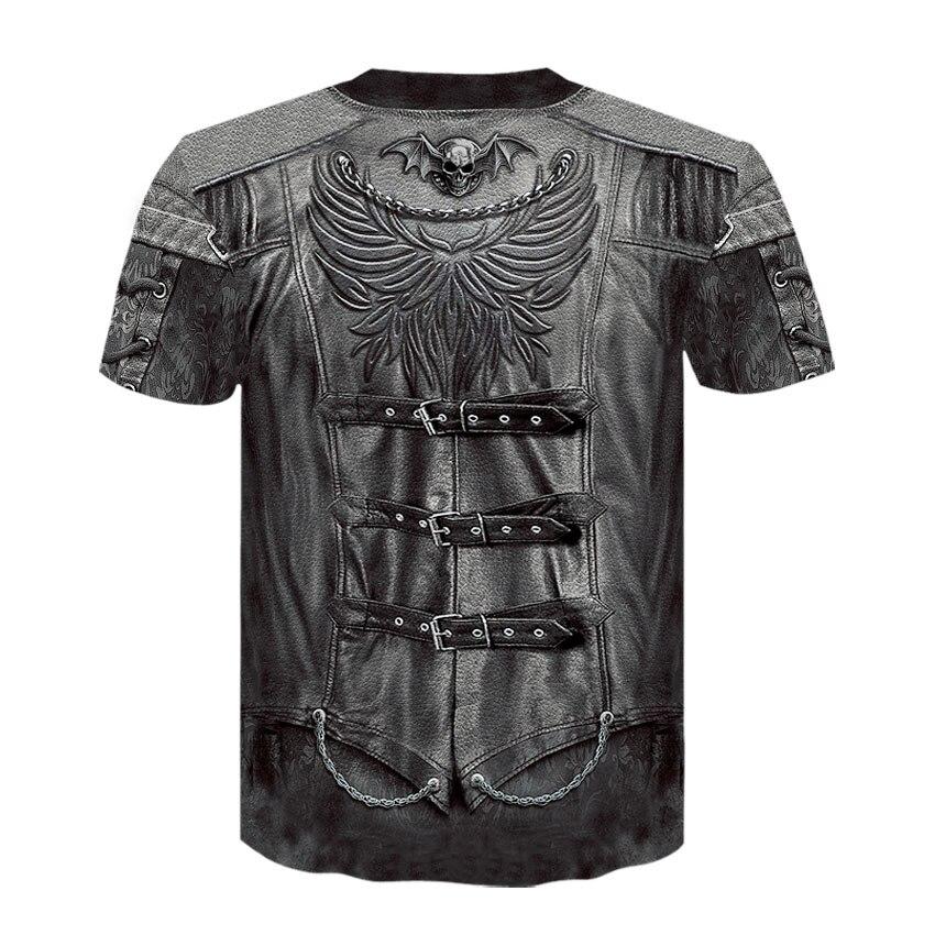 AE172-T恤短袖模版-后