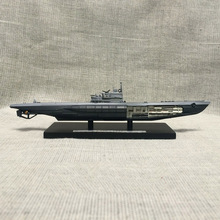 ATLAS World War II Germany U995 1945 Submarine Model 1/350 Scale Diecast Finished Alloy Toy For Collect Gift