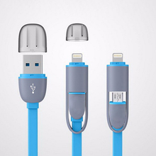2 In 1 DJI Inspire 1 &Phantom 3 professional advanced standard Phantom 4 Compatible Iphone Android Charging Cable usb date wire(China)